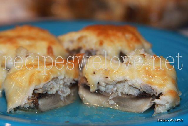 Crab Stuffed Mushrooms I will add Italian Panko to the mixture & maybe ...