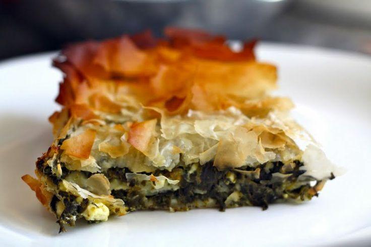 "Spanakopita (Greek Spinach Pie) - ""fantastic Greek dish. nice and ..."
