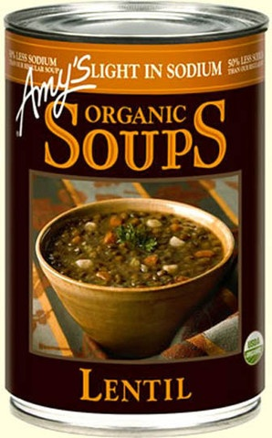 Amy S Kitchen Low Sodium Lentil Soup