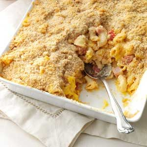 Deluxe Baked Macaroni and Cheese use only tomatoes and mostaccioli ...