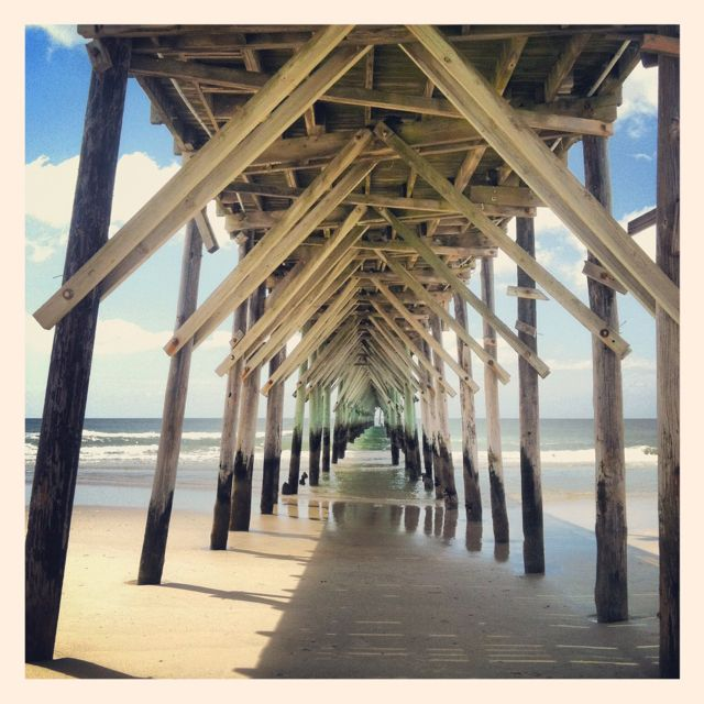 Pin by lynne byington on beach photos pinterest for Topsail fishing pier