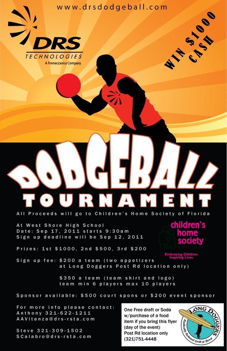 Dodgeball posterDodgeball Tournament Poster