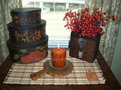 Primitive Autumn Decor - Bing Images
