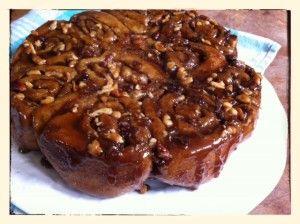 Whole Wheat Cinnamon Sticky Buns Recipe — Dishmaps