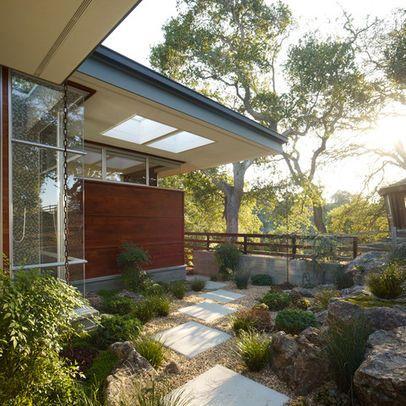 Mid Century Modern Garden Design graph