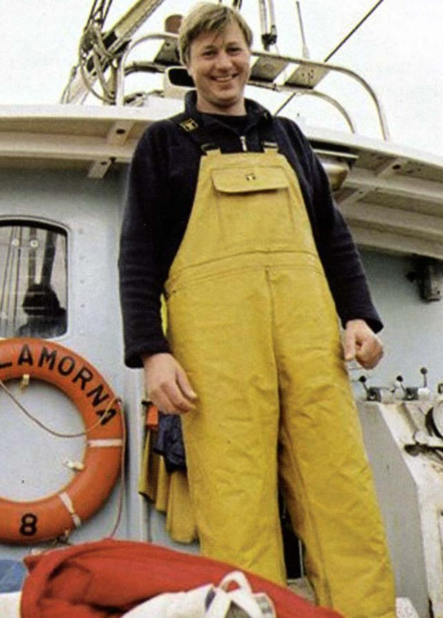 A Fisherman in his Working Clothes