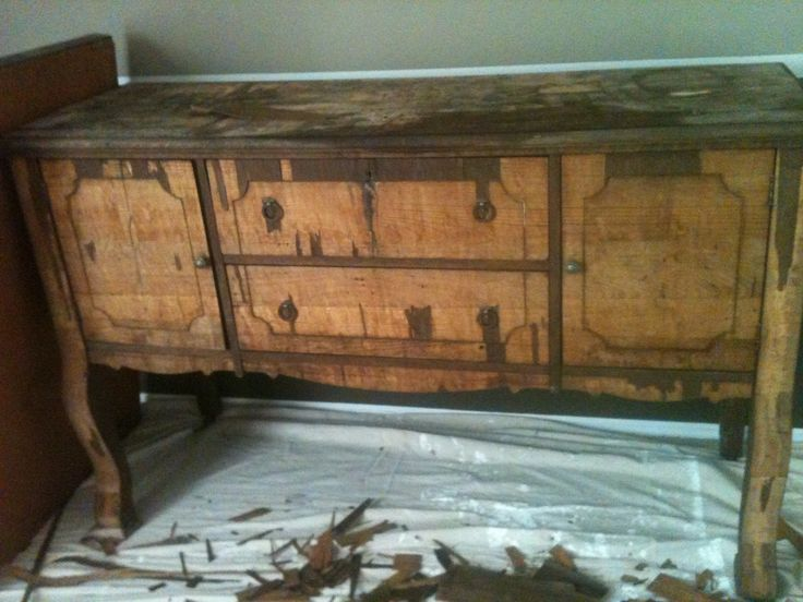 Old Furniture and Thrift Store Refinishing