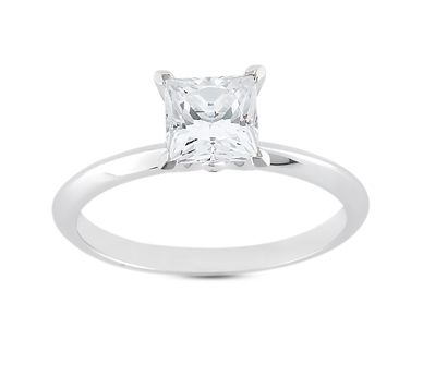 my dream ring ... princess cut solitaire diamond