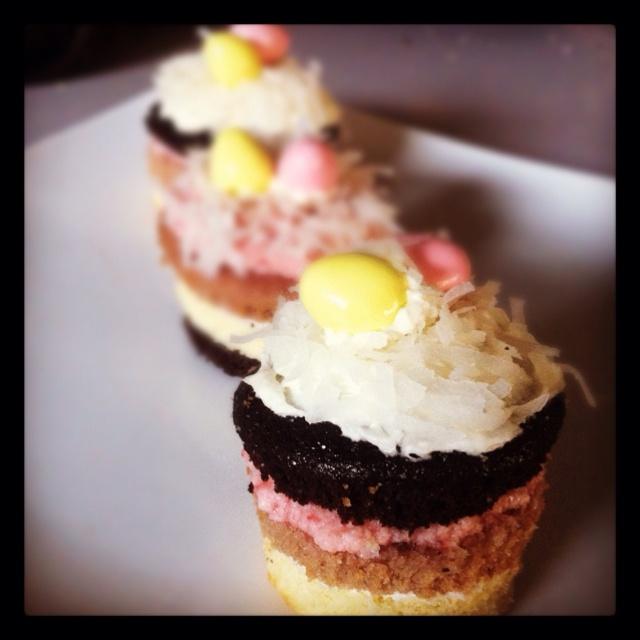 Neapolitan cupcakes | Food: Bakehaus' Inspiration | Pinterest