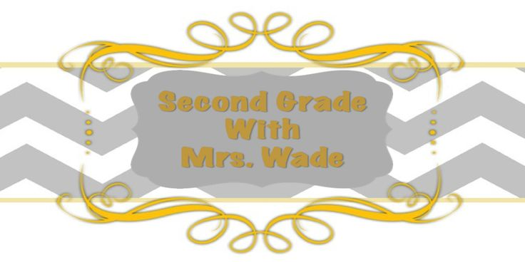 2nd Grade with Mrs. Wade, like the ideas on this blog