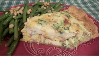 Bacon, Broccoli and Cheddar Quiche   Food - Egg   Pinterest