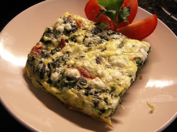 Spinach Frittata. Photo by JanuaryBride