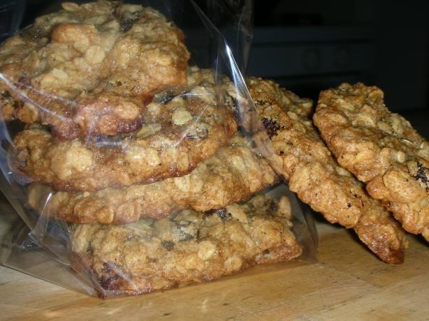 Cinnamon, Oatmeal, Raisin, And Walnut Cookies Recipe — Dishmaps