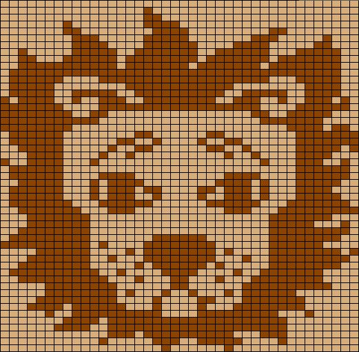 Free Knitting Graph Patterns : Lion Chart Picture this: Knitting and Crochet Charts and Graphs P?