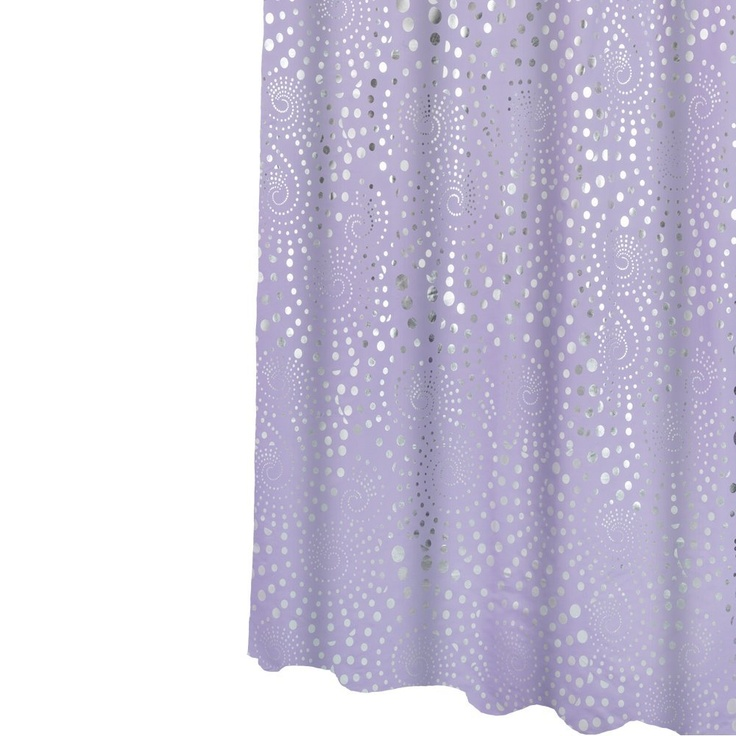 ... .com: Veratex Fairy Dust Shower Curtain, Peri Berry: Bedding & Bath