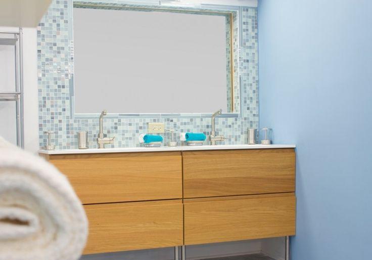 mineral tiles diy network tile backsplash kit 15ft blue