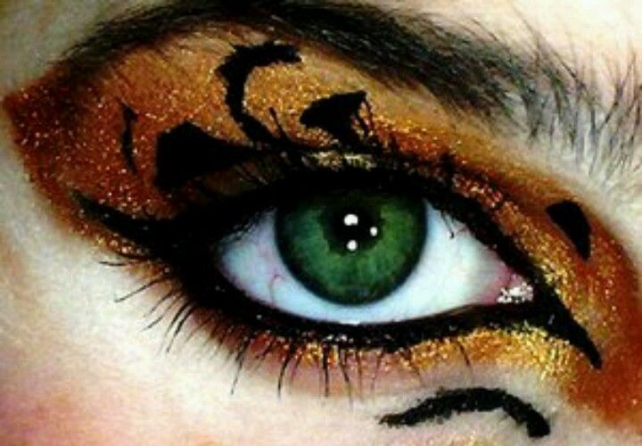 tiger makeup halloween welcome to the jungle pinterest