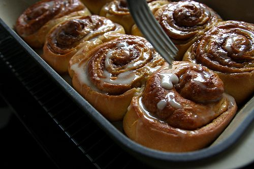 Cream Cheese Cinnamon Rolls. This is what I will be making on ...