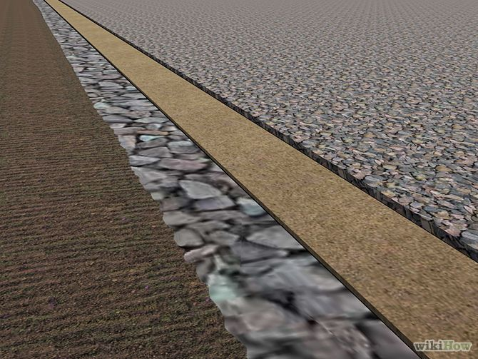 how to make a drive way with gravel
