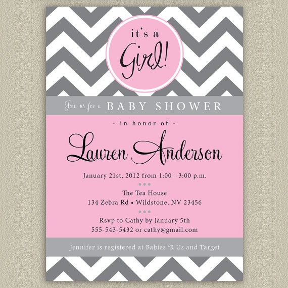 Baby Shower Invitations Pinterest is the best ideas you have to choose for invitation example