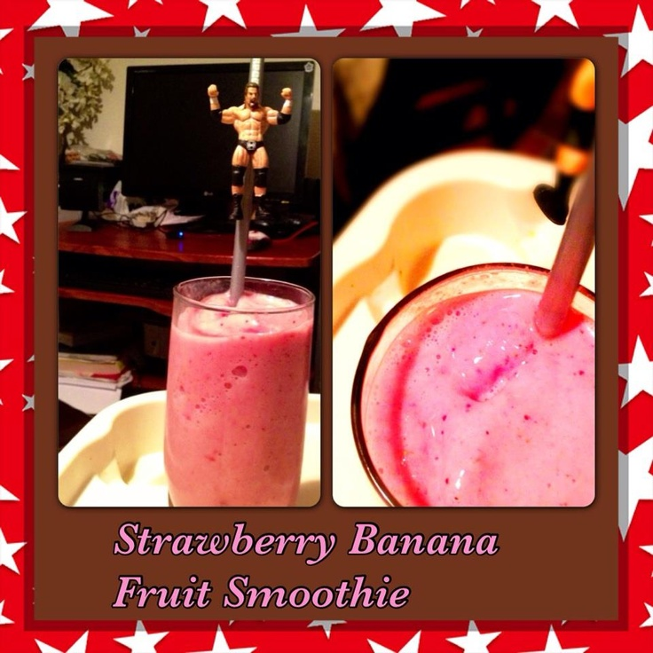 Strawberry Banana Smoothie | For me on my way.... | Pinterest