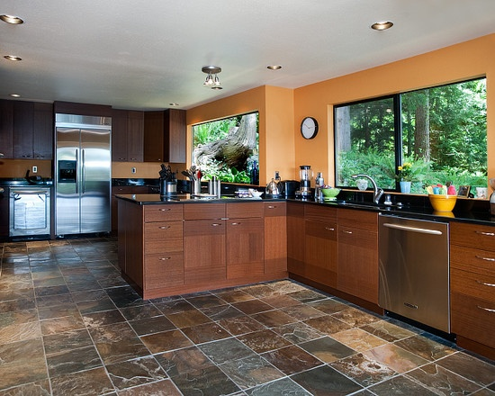 Warm kitchen colors pthyd for Colour scheme for kitchen walls