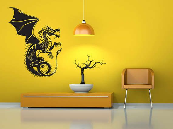 Custom Vinyl Wall Decals Turn Any Room into a Fantasy World #homedecor #decals trendhunter.com