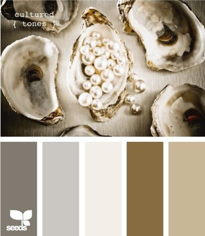 oyster pearl shades