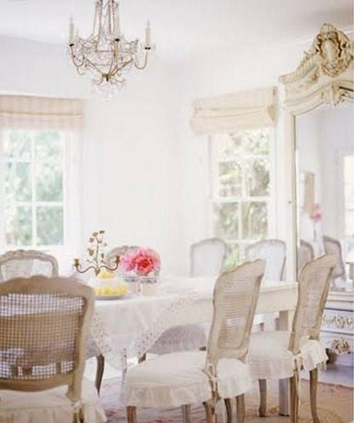Shabby chic dining room dine shabby pinterest - Shabby chic dining rooms ...