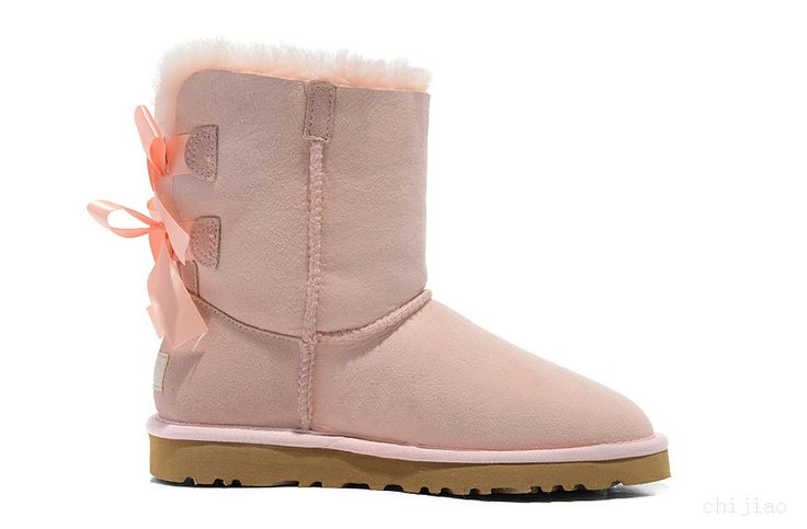 uggs bailey bow womens pink