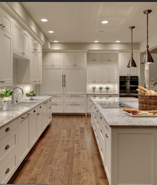 Off white kitchen kitchen ideas pinterest Kitchen design off white cabinets