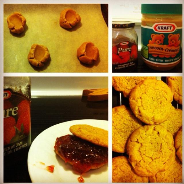 PB&J cookies | Noms | Pinterest