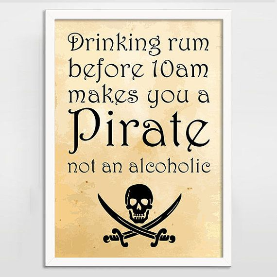 Quotes About Rum Pirate Quotesgram
