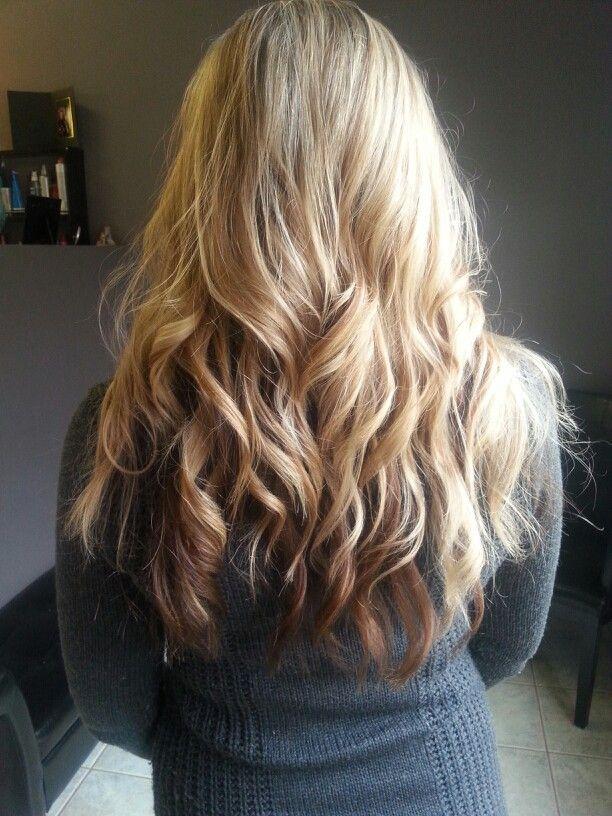 blonde hair highlights lowlights brown underneath