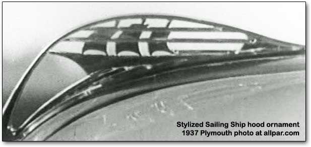 Plymouth Mayflower Hood Ornament Moving Art Pinterest
