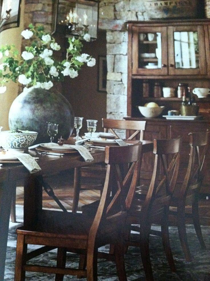 pottery barn dining room hall pinterest