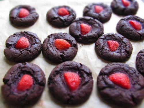 vegan berry thumbprints | Vegan Life | Pinterest