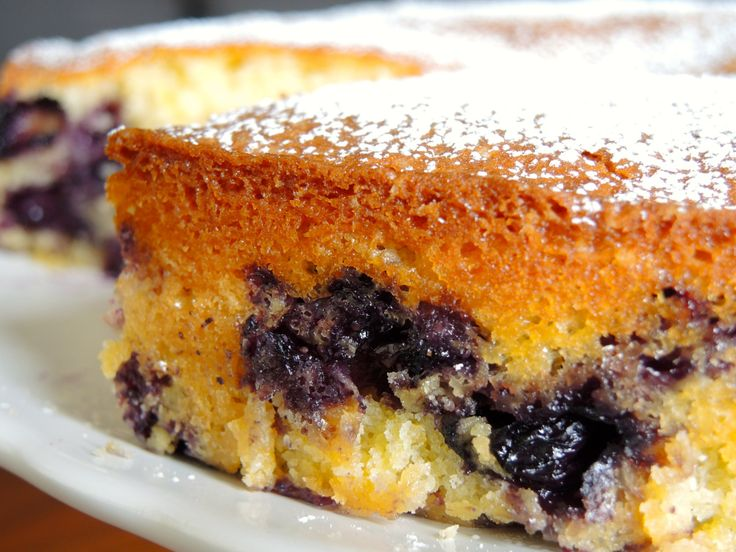 Blueberry -Muffin Cake | FOOD | Pinterest