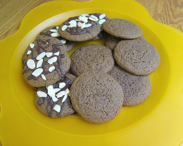 Naturally Sweet Recipes: Big Soft Ginger Cookies