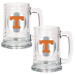 University of Tennessee Volunteers Vols Set of 2 Beer Mugs