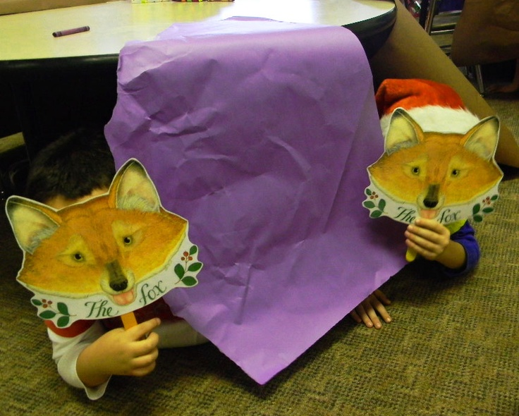 """Characters from Jan Brett's """"The Mitten"""" come alive during Hibernation ..."""