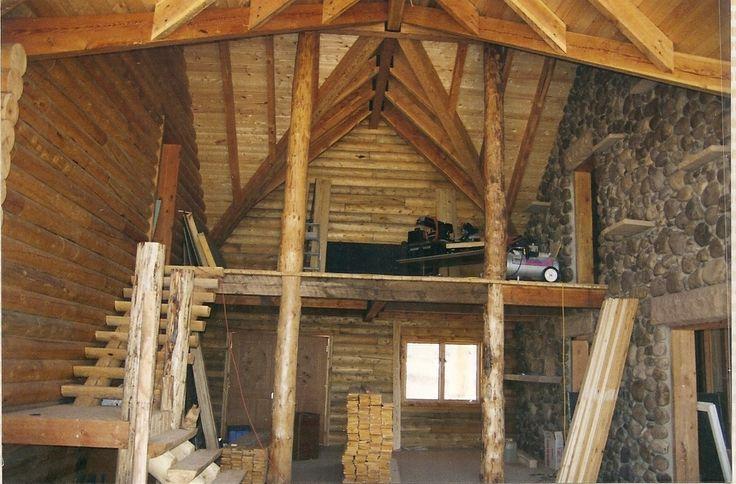 Cabin joy studio design gallery photo for Log cabin roof design