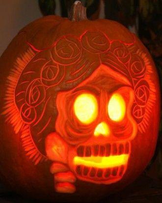 DIA De Los Muertos Pumpkin