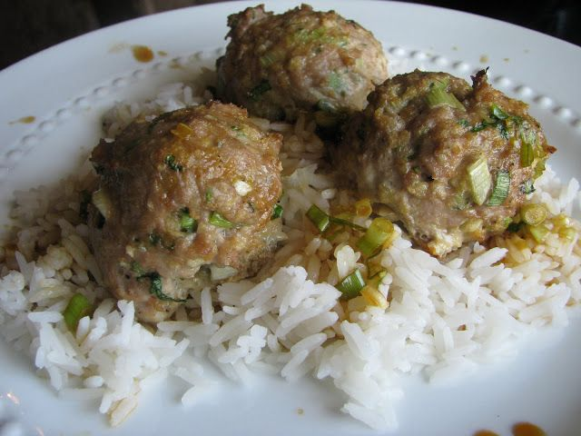 ... Little Kitchen: Asian Turkey Meatballs with Lime-Sesame Dipping Sauce