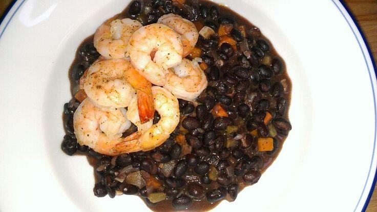 Roasted Shrimp with Black Bean. | FOOD | Pinterest