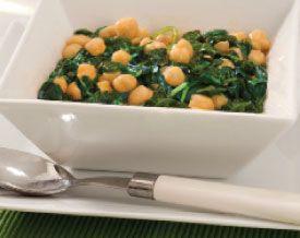Recipe: Espinacas con Garbanzos (spinach with garbanzo beans). Quick ...