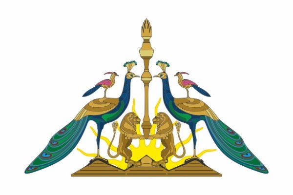 The Yezidi religion, still practiced by some Kurds, uses birds as symbols for angels.