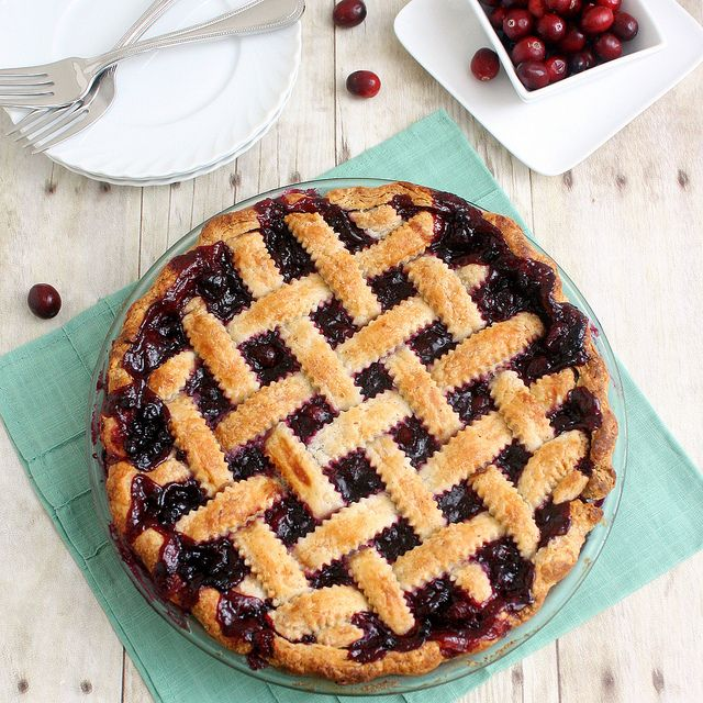 Cranberry and Wild Blueberry Pie by Tracey's Culinary Adventures, via ...