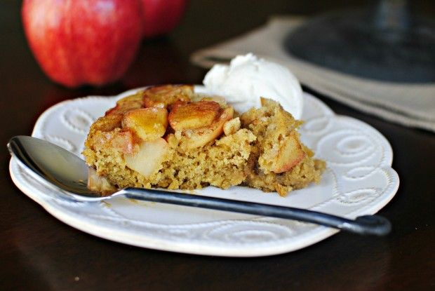 Upside-down Apple Cinnamon Honey Cake | recipes. | Pinterest