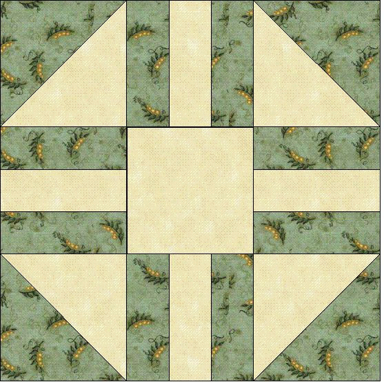 Free Quilt Patterns And Blocks : Free Wedding Quilt Block - Quilting Quilting:Blocks & Patterns Pi?